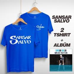 Sansar Salvo - Sansar Salvo Box 2 (Tipografi) Mavi + Mavi