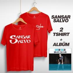 Sansar Salvo - Sansar Salvo Box 2 (Tipografi) Kırmızı + Kırmızı