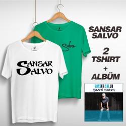 Sansar Salvo - Sansar Salvo Box 2 (Tipografi) Beyaz + Yeşil