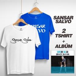 Sansar Salvo - Sansar Salvo Box 2 (Tipografi) Beyaz + Mavi