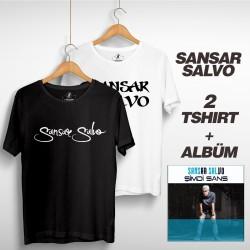 Sansar Salvo - Sansar Salvo Box 2 (Tipografi) Siyah + Beyaz