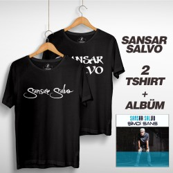 Sansar Salvo - Sansar Salvo Box 2 (Tipografi) Siyah + Siyah