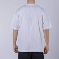 Saw - Activity Packers Oversize Beyaz T-shirt - Thumbnail