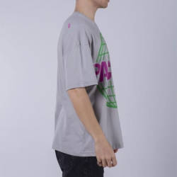 Saw - Activity Packers Oversize Gri T-shirt - Thumbnail