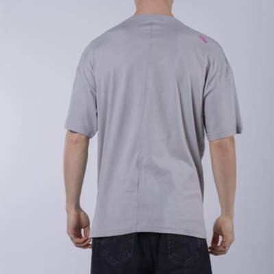 Saw - Activity Packers Oversize Gri T-shirt
