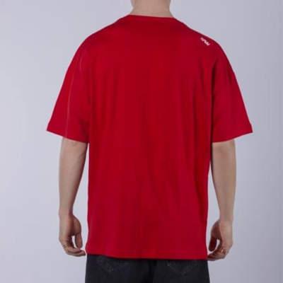 Saw - Activity Packers Oversize Kırmızı T-shirt