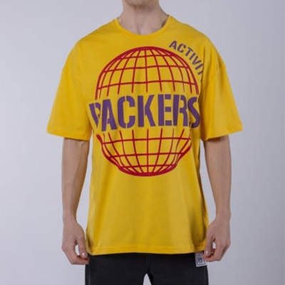 Saw - Activity Packers Oversize Sarı T-shirt