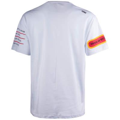 Saw - Bird Oversize Beyaz T-shirt