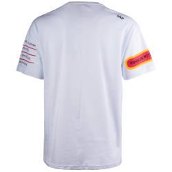 Saw - Bird Oversize Beyaz T-shirt - Thumbnail
