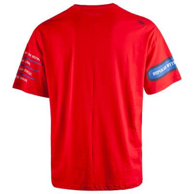 Saw - Bird Oversize Kırmızı T-shirt