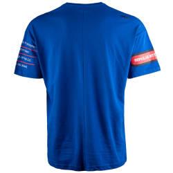 Saw - Bird Oversize Mavi T-shirt - Thumbnail