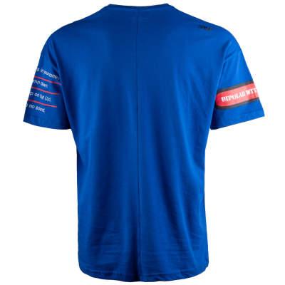 Saw - Bird Oversize Mavi T-shirt
