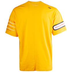 Saw - Bird Oversize Sarı T-shirt - Thumbnail