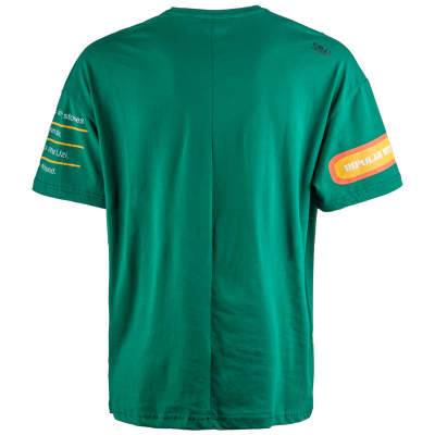 Saw - Bird Oversize Yeşil T-shirt