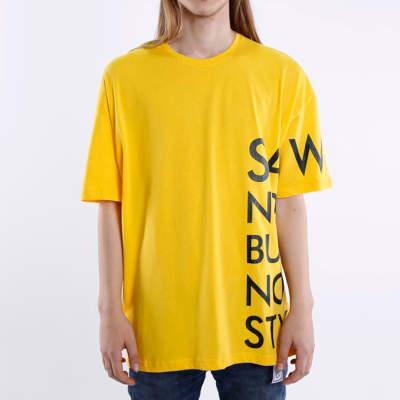 Saw - Saw Co. No Oversize Sarı T-shirt