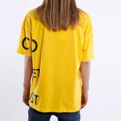 Saw - Saw Co. No Oversize Sarı T-shirt - Thumbnail