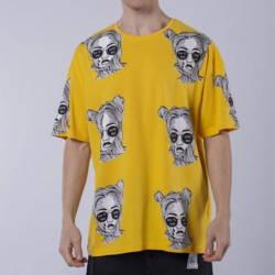 Saw - Saw - Espostoa Oversize Sarı T-shirt