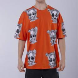 Saw - Saw - Espostoa Oversize Turuncu T-shirt
