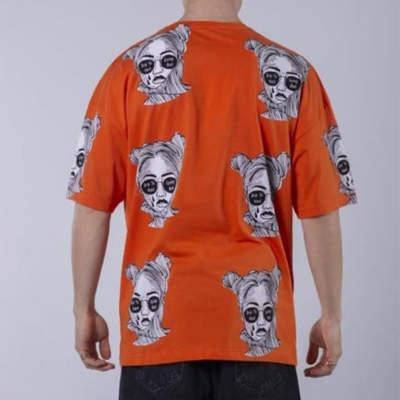 Saw - Espostoa Oversize Turuncu T-shirt