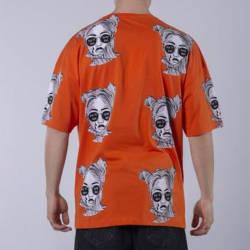 Saw - Espostoa Oversize Turuncu T-shirt - Thumbnail