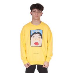 Saw - Saw - I'm So Cool Sarı Sweatshirt