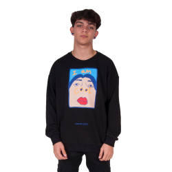 Saw - Saw - I'm So Cool Siyah Sweatshirt