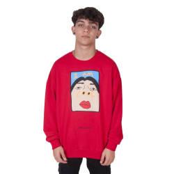 Saw - Saw - I'm So Cool Kırmızı Sweatshirt