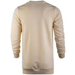 Saw - Long Basic Açık Sarı Sweatshirt - Thumbnail