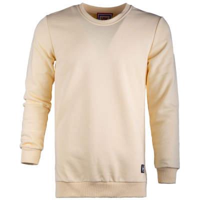 Saw - Long Basic Açık Sarı Sweatshirt