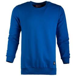 Saw - Saw - Long Basic Mavi Sweatshirt