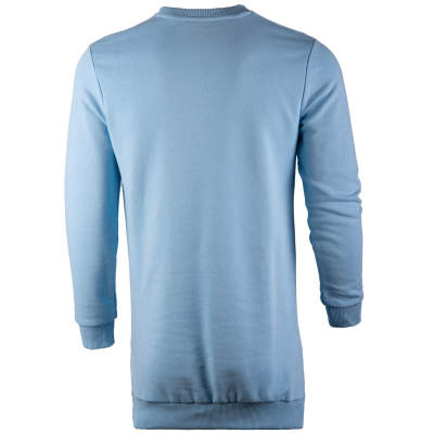Saw - Long Basic Açık Mavi Sweatshirt