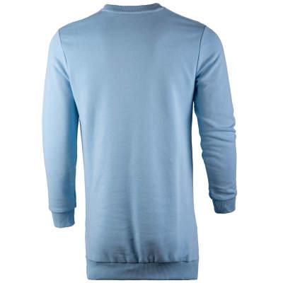 Saw - Long Basic Açık Mavi Sweatshirt