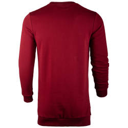 Saw - Long Basic Bordo Sweatshirt - Thumbnail