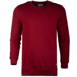Saw - Long Basic Bordo Sweatshirt - Thumbnail