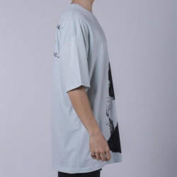Saw - Matucana Long Oversize Mint T-shirt - Thumbnail