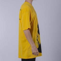 Saw - Matucana Long Oversize Sarı T-shirt - Thumbnail