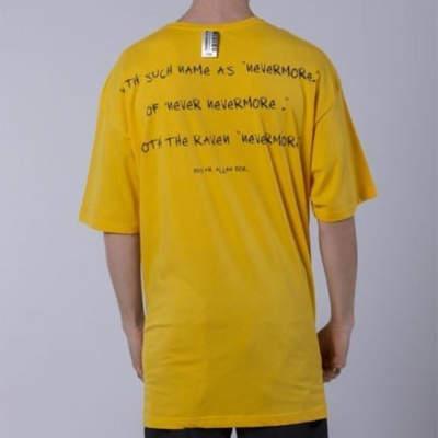 Saw - Matucana Long Oversize Sarı T-shirt