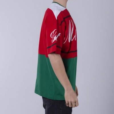 Saw - Me Going Kırmızı & Yeşil T-shirt