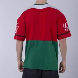 Saw - Me Going Kırmızı & Yeşil T-shirt - Thumbnail