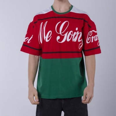 Saw - Saw - Me Going Kırmızı & Yeşil T-shirt