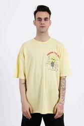 Saw - Praise The Sun T-Shirt Sarı - Thumbnail