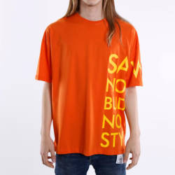 Saw - Saw - Saw Co. No Oversize Turuncu T-shirt