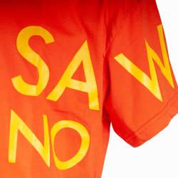 Saw - Saw Co. No Oversize Turuncu T-shirt - Thumbnail
