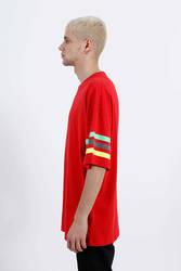 Saw - Shipshape T-Shirt Kırmızı - Thumbnail