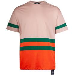 Saw - Saw - Strip Bej T-shirt