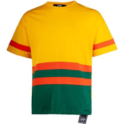 Saw - Strip Sarı T-shirt