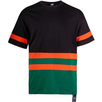 Saw - Strip Siyah T-shirt