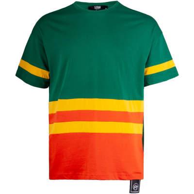 Saw - Strip Yeşil T-shirt