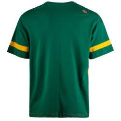 Saw - Strip Yeşil T-shirt - Thumbnail