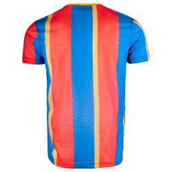 Saw - Stripes Sarı - Kırmızı T-shirt - Thumbnail